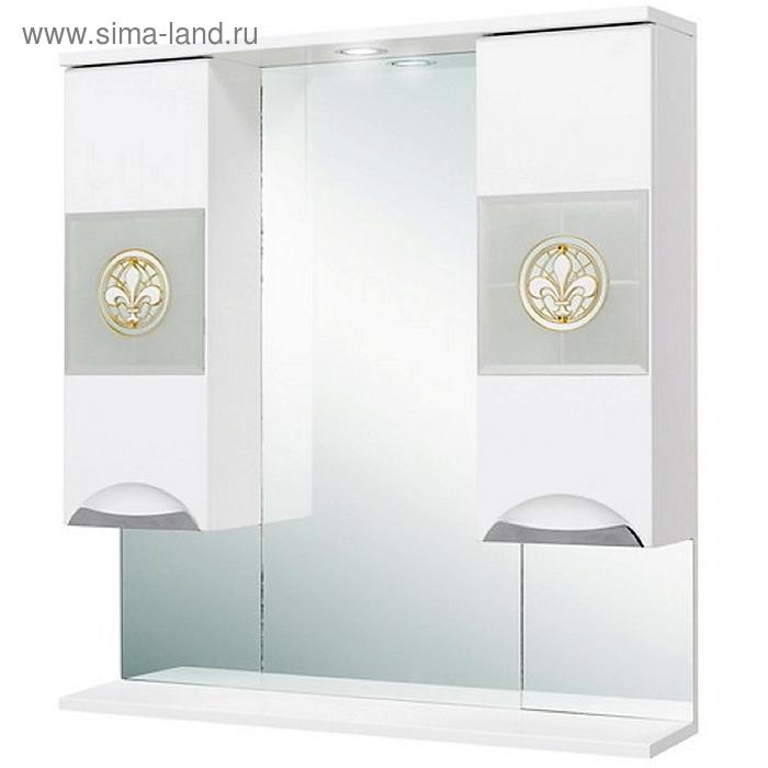 Флорена 78.01  зеркало-шкаф, белый 207802