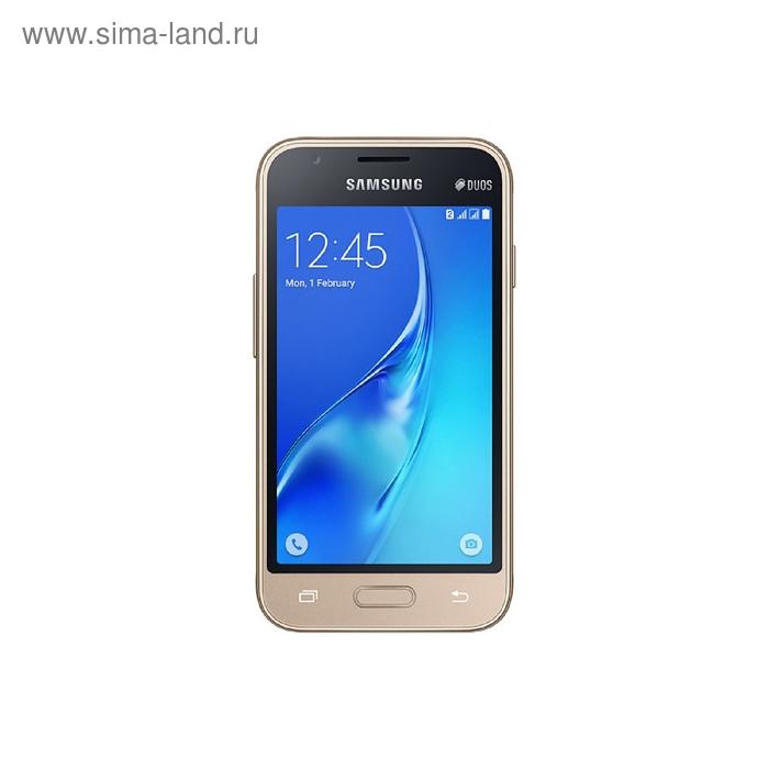 Смартфон Samsung Galaxy J1 mini SM-J105H, золотой