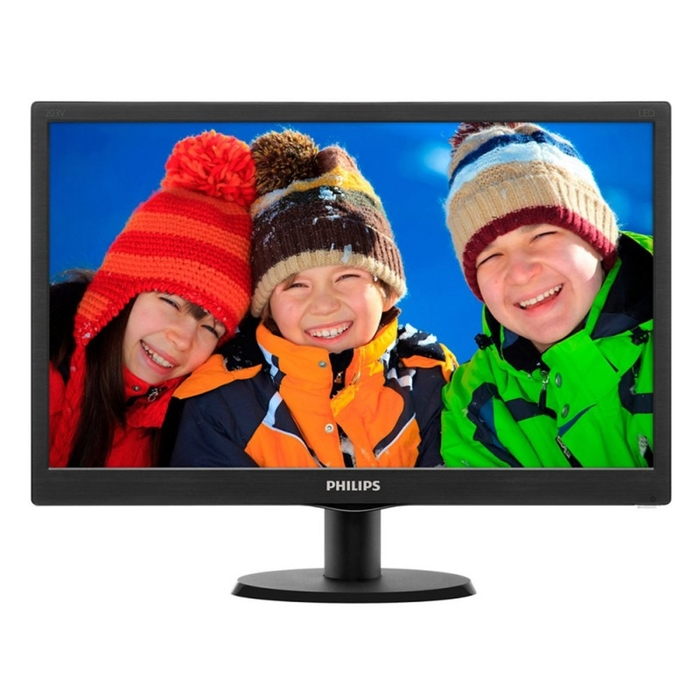 "Монитор Philips 19.5"" 203V5LSB26 (10/62), черный"