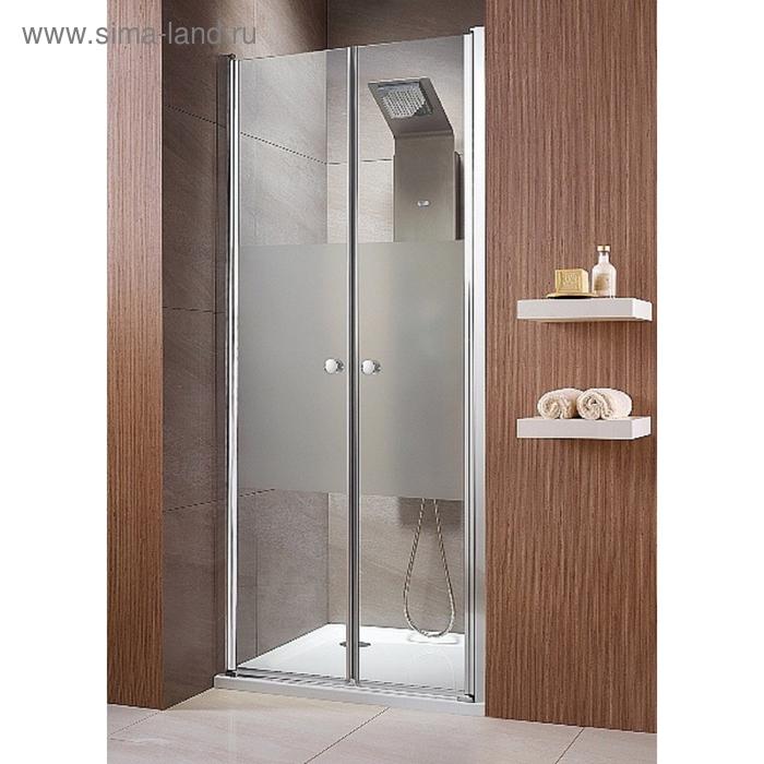 Душевая дверь Radaway EOS DWD 80 800*1970 хром/интимато/6мм 37713-01-12N