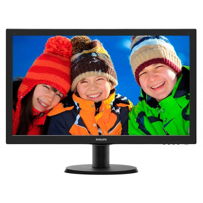 "Монитор Philips 23.6"" 243V5LAB (00/01), черный"