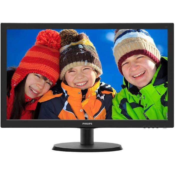 "Монитор Philips 21.5"" 223V5LHSB2 (00/01), черный"