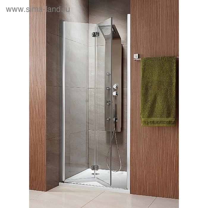 Душевая дверь Radaway EOS DWB 70/L 700*1970 хром/интимато/6мм 37883-01-12NL