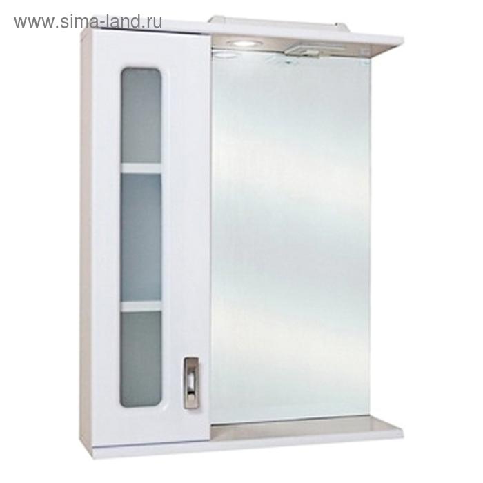 Зеркало-шкаф Onika Кристалл 58.01, Левый