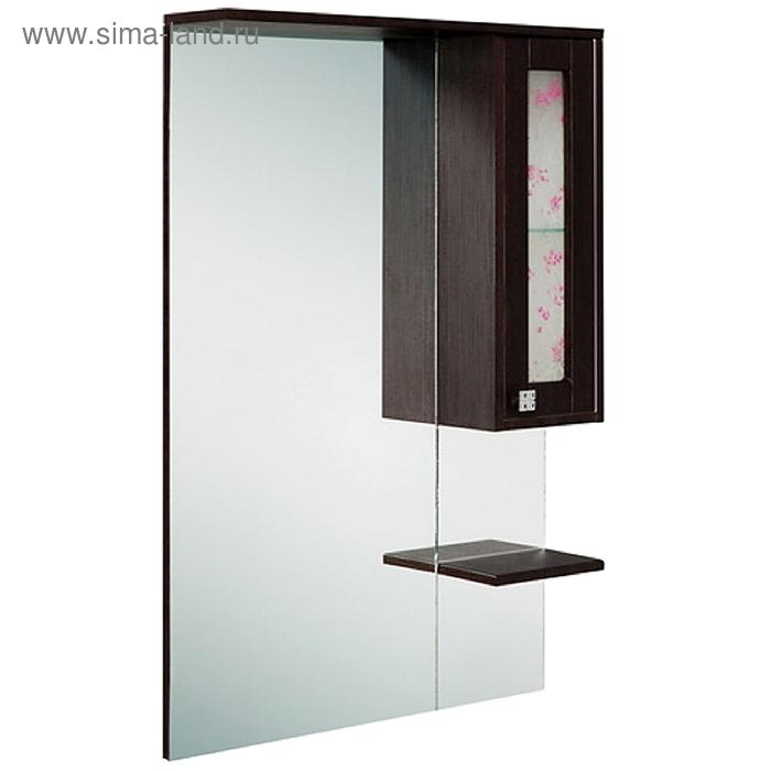 Зеркало-шкаф Onika Сакура 70.102, правый, Венге шелк
