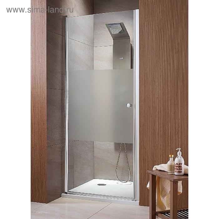 Душевая дверь Radaway EOS DWJ 70 700*1970 хром/интимато/6мм 37983-01-12N