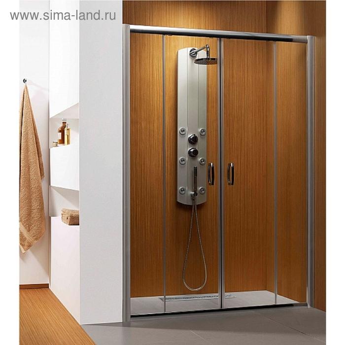 Душевая дверь Radaway Premium Plus DWD 1600*1900 хром/коричневое 33363-01-08N