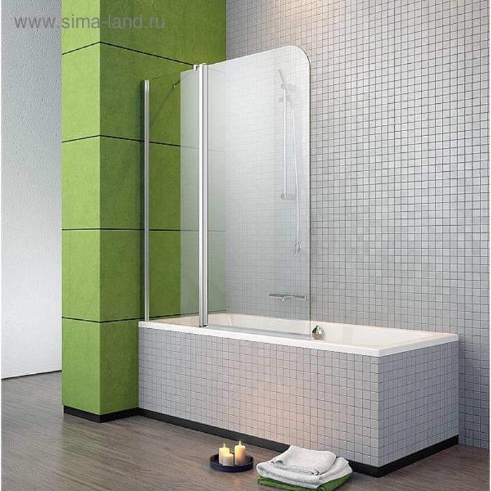 Шторка для ванны Radaway EOS II PND 130/L 1300*1520 хром/прозрачное/6mm 206213-01L