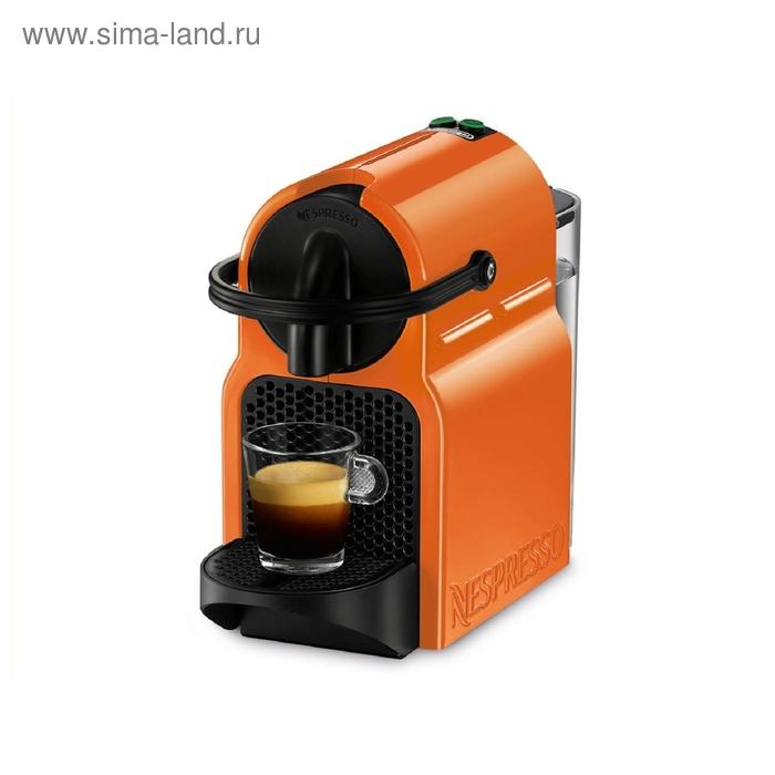 Кофеварка De Longhi Nespresso INISSIA EN 80.O, 1260 Вт, 0.7 л, капсульная, оранжевый