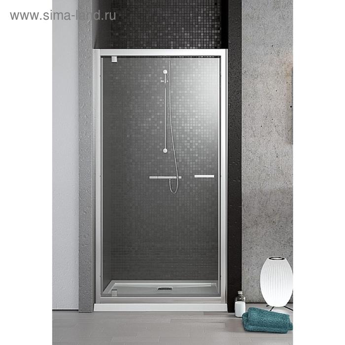 Душевая дверь Radaway Twist DW 80  800*1900 хром/прозрачное/ 6мм 382001-01