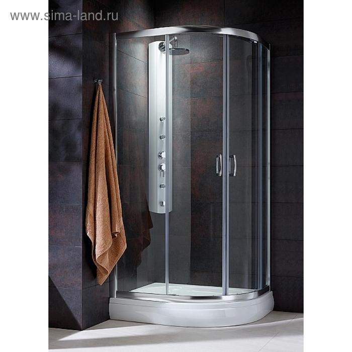 Душевая кабина Radaway Premium Plus E 30491-01-02N, 100 х 80 х 190 см, матовое стекло-5 мм