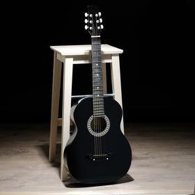 Гитара акустическая 2С чёрная, 6 струн, Ижевский завод