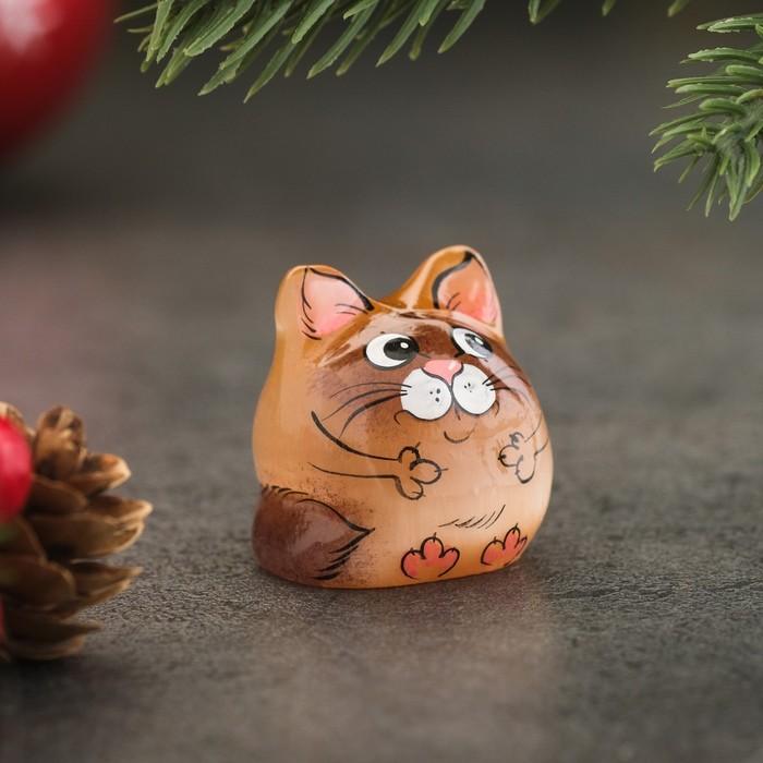Сувенир «Котёнок Кеша», селенит