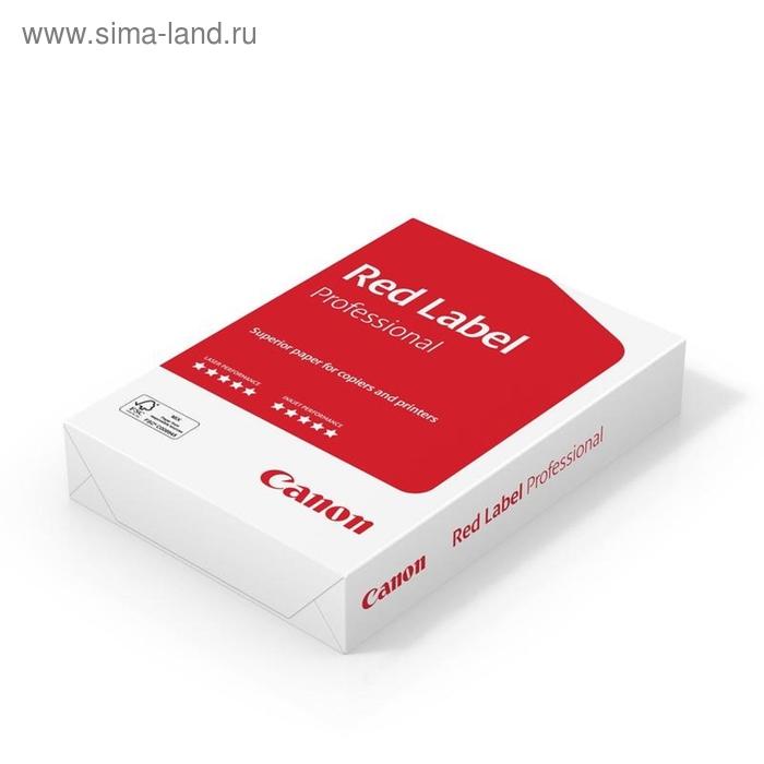 Бумага А4 500л Canon Red Label Professional 80г/м2,172CIE% класс А