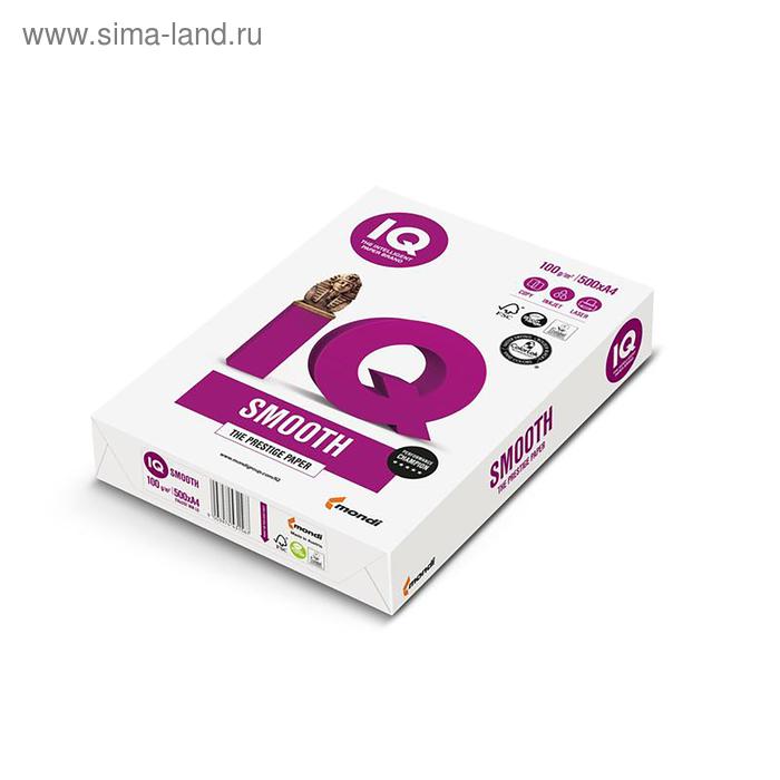 Бумага А4 500л IQ Selection 100г/м2,167%CIE класс А+