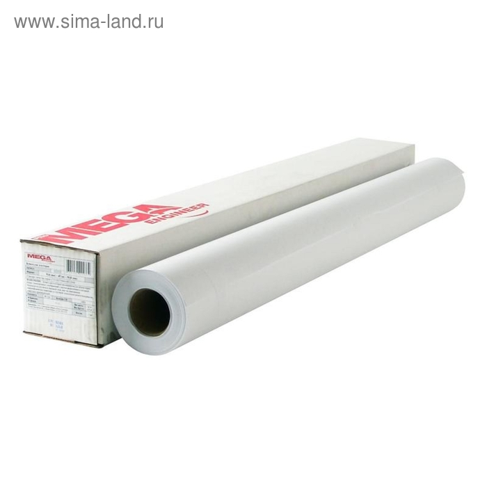 Бумага широкоформатная MEGA Engineer,InkJet,80г,36 /914ммх45м,д.50,8мм.