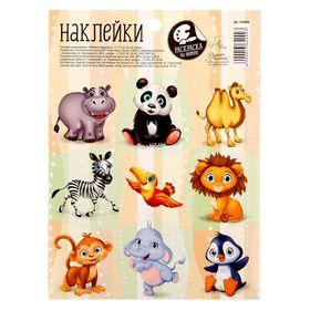 Наклейки декоративные «Любимые животные», 11 х 15 см Ош
