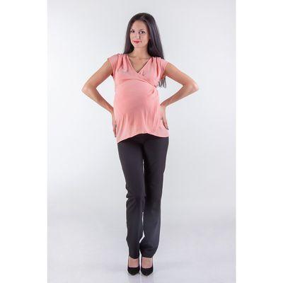 Туника женская для беременных, размер 48, рост 168, цвет персиковый (арт. 0370)