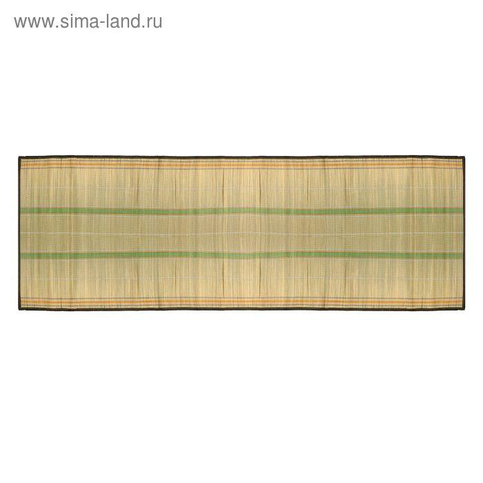 Циновка усиленная 90х180 см, цвет МИКС
