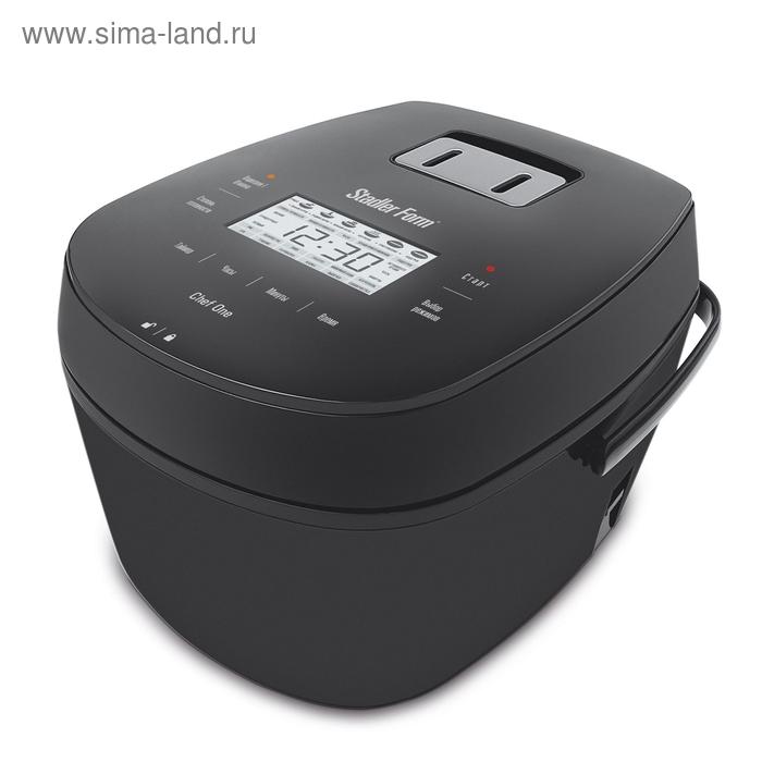 Мультиварка Stadler Form Chef One SFC.909, 800 Вт, 4 л, 12 прог, 3D, отложенный старт, черный