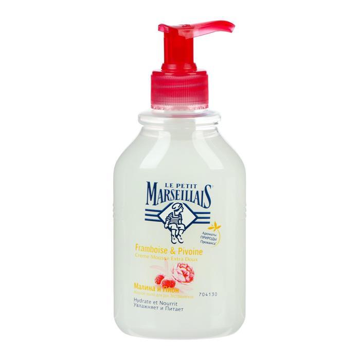Жидкое мыло Le Petit Marseillais «Малина и пион», 300 мл