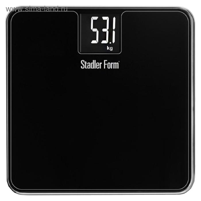 Весы напольные Stadler Form Scale Two SFL.0012, электронные, до 180 кг, черные