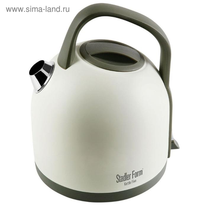 Чайник электрический Stadler Form Kettle Five SFK.8800, 3000 Вт, 1.5 л, белый