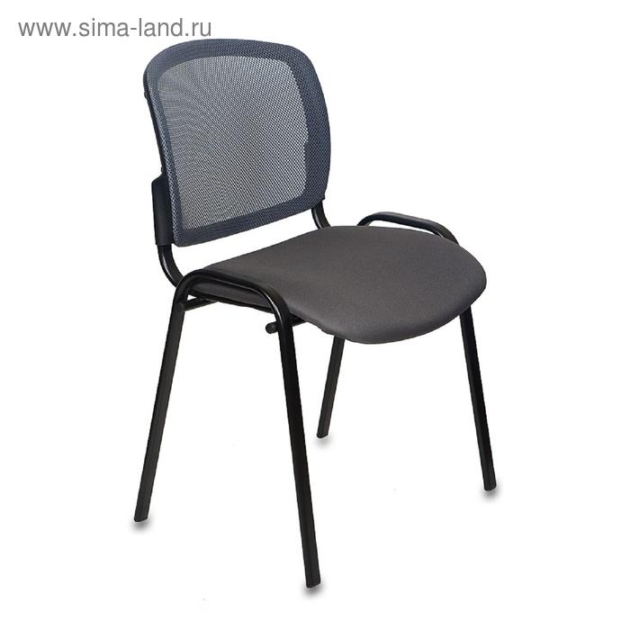 Стул Вики/DG/15-13 спинка сетка темно-серый сиденье темно-серый