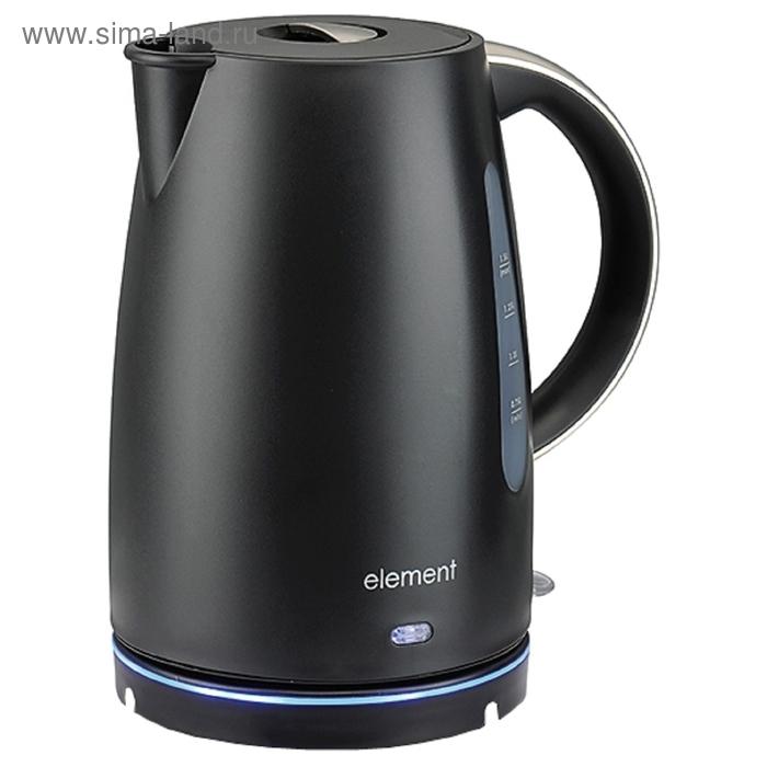 Чайник электрический Element El'Kettle WF08PB, 2200 Вт, 1.5 л, черный