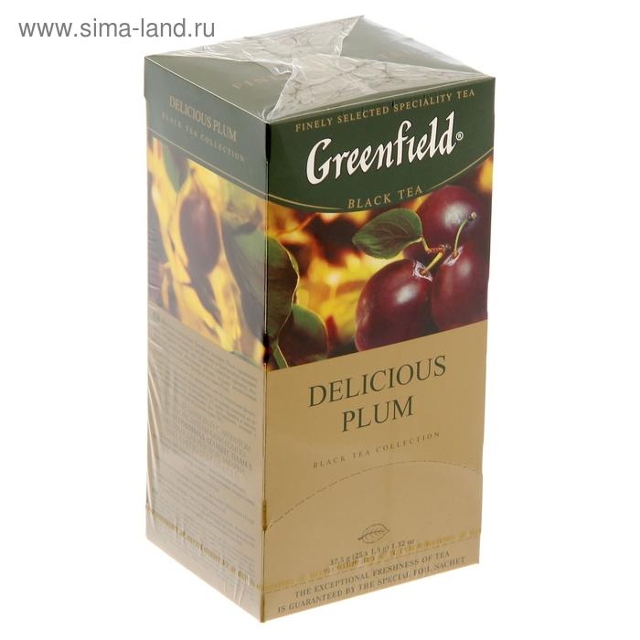 Чай Гринфилд Delicate Plam black tea 25п*1,5 гр.
