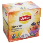 Чай Lipton Bluebr Muffin пирамидки, 20 пак*1,6 гр
