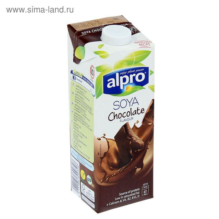 Соевый напиток ALPRO шоколадный, 1 л.