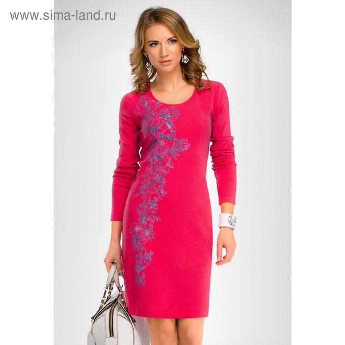 Платье женское, размер S, цвет малиновый FDJ656