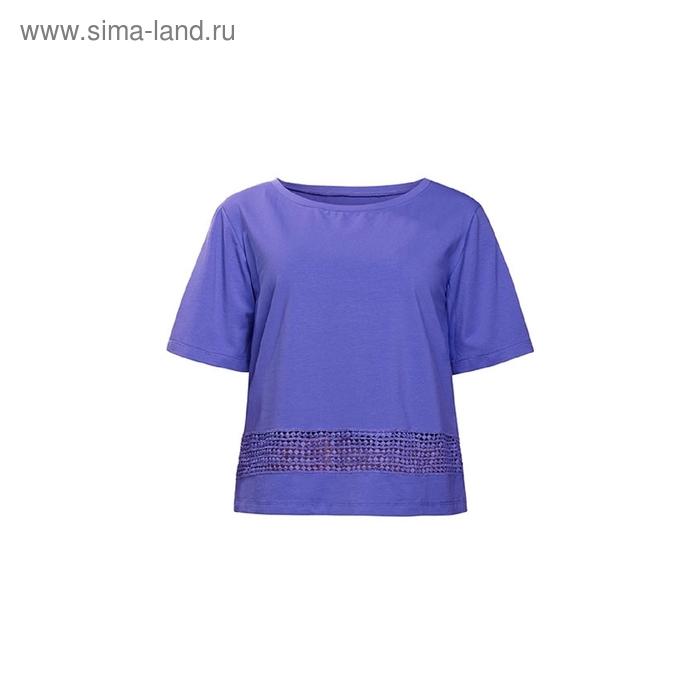 Футболка женская, размер L, цвет лиловый DT685/1