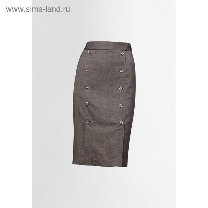 Юбка женская, размер XL, цвет светло-коричневый FWS0701