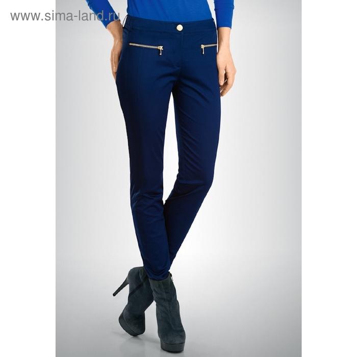 Брюки женские, размер S, цвет тёмно-синий FWP654