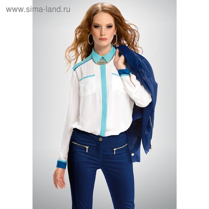 Блузка женская, размер XL, цвет белый FWJX654/1