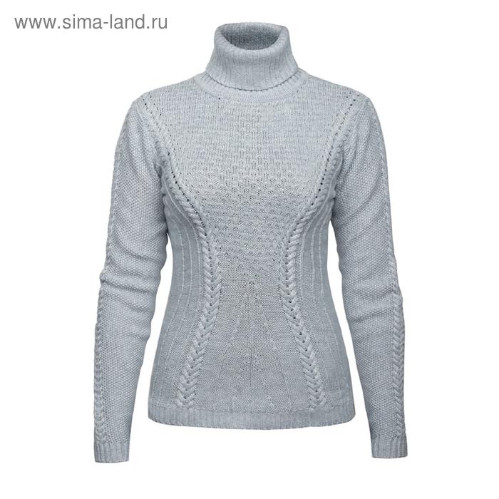 Джемпер женский, размер S, цвет светло-серый KJN671