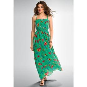 Платье женское, размер XS, цвет зелёный FWD669