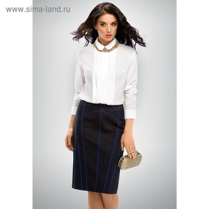 Блузка женская, размер XL, цвет белый FWJ654