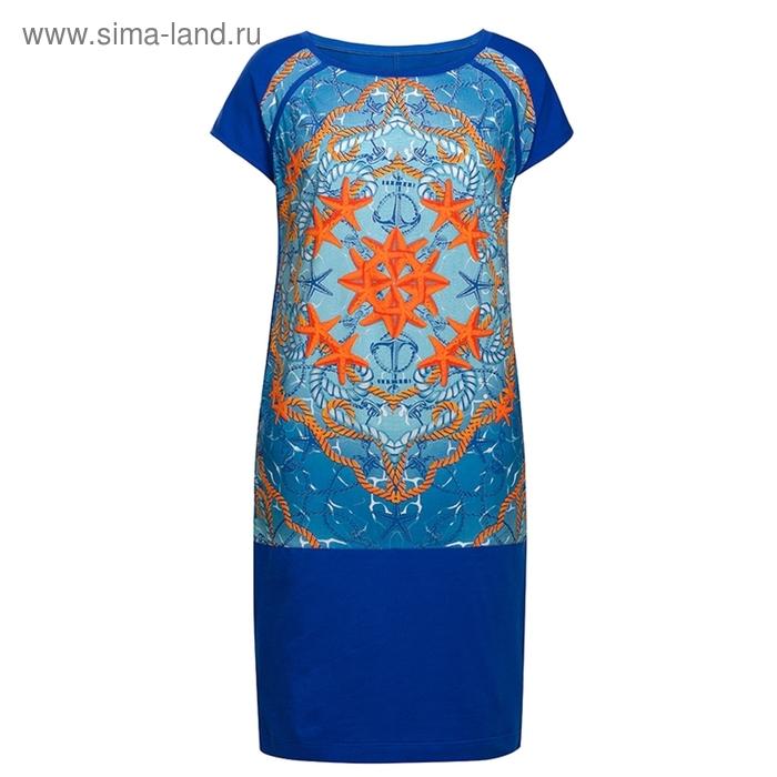 Платье женское, размер XS, цвет джинсовый DDT681