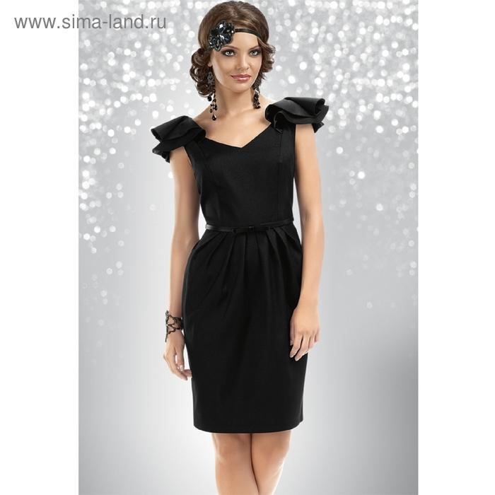 Платье женское, размер S, цвет чёрный FWD0405