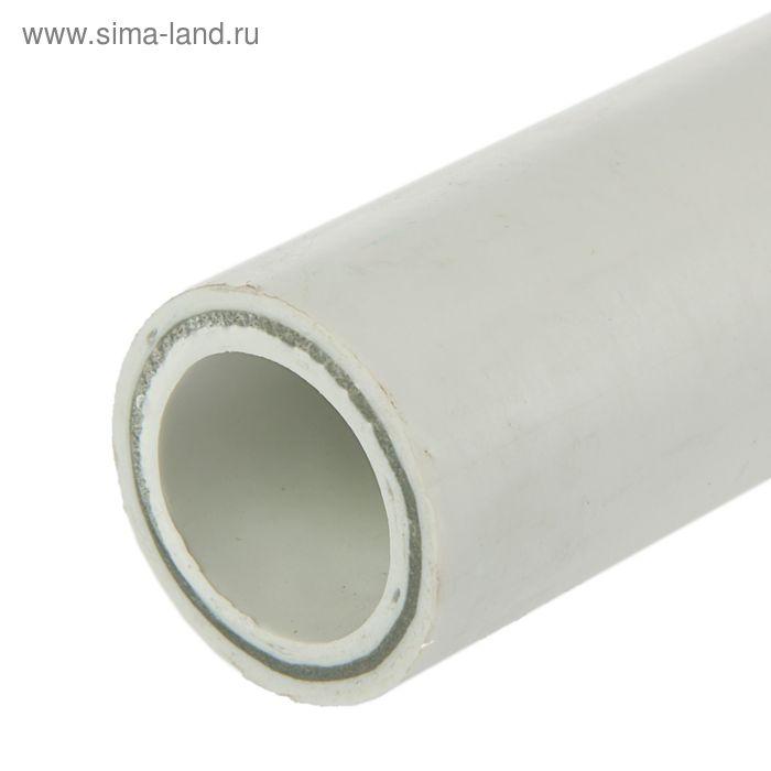"""Труба полипропиленовая """"РВК-ORANGE"""" , армированная стекловолокном, d=40 мм, SDR 7,4, 2 м"""