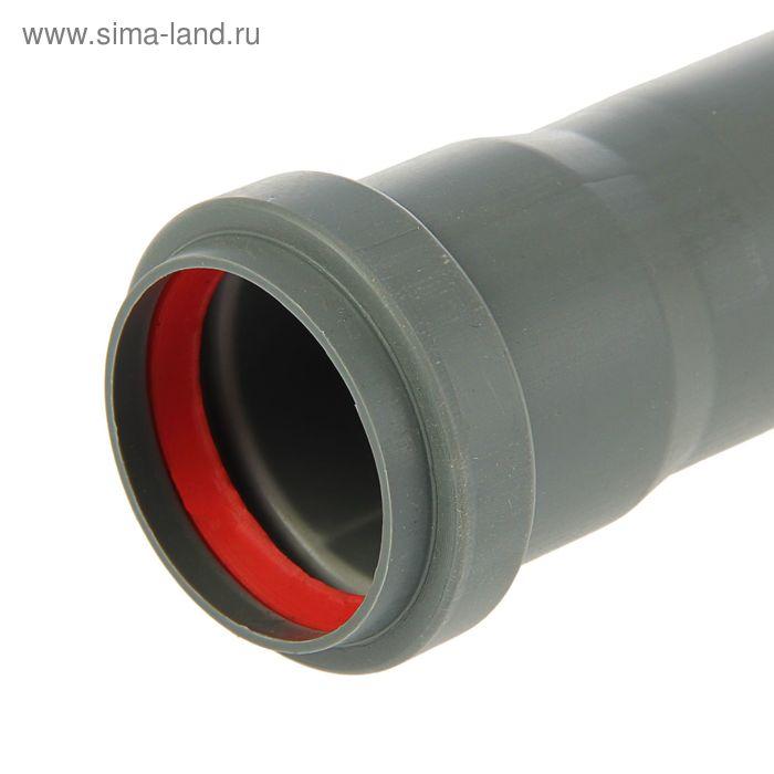 Труба канализационная, внутренняя, d=50 мм, 750 мм