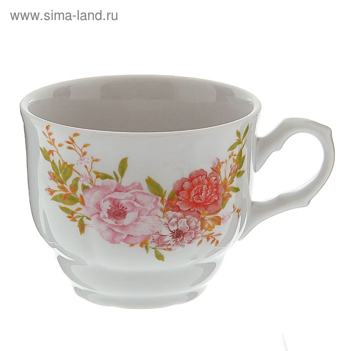 "Чашка чайная 250 мл ""Тюльпан. Английский сад"""
