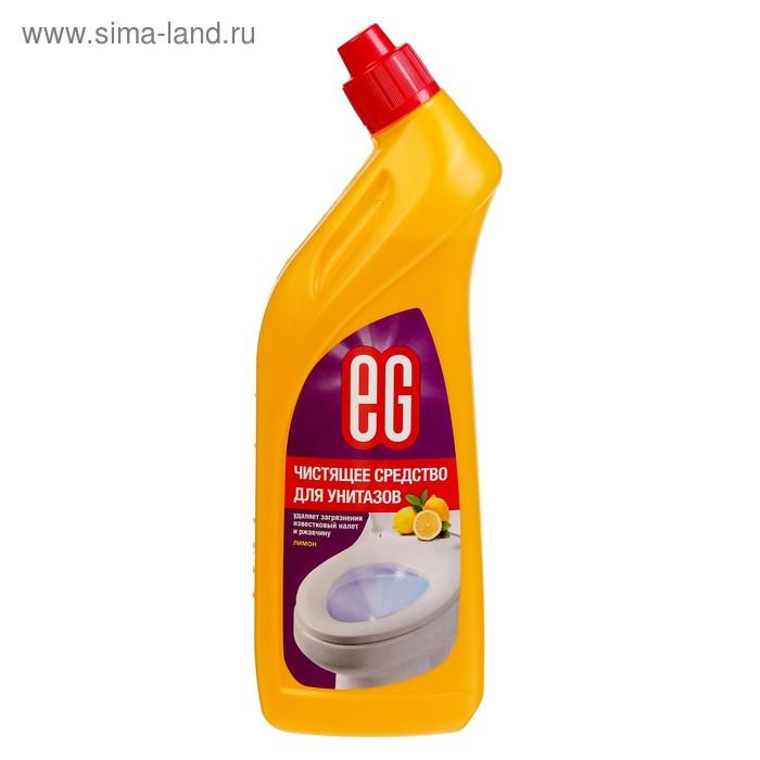 """Активный гель """"Еврогарант"""" для чистки унитазов, лимон, 750 мл"""