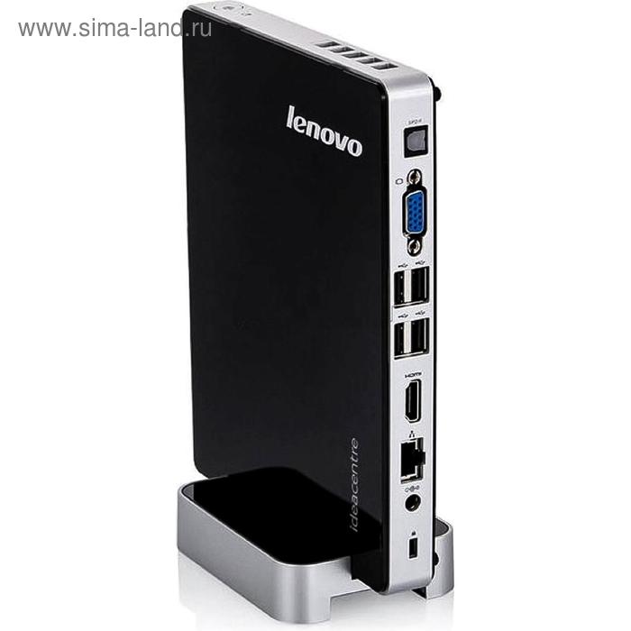 Неттоп Lenovo IdeaCentre Q190 slim (57316613)/черный/серебристый