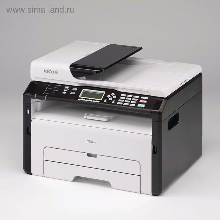 МФУ, лазерная черно-белая печать Ricoh SP 212SFNw