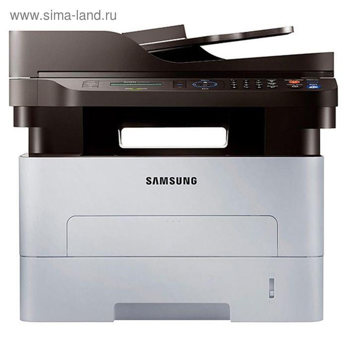 МФУ, лазерная черно-белая печать Samsung Xpress SL-M2880FW, А4, Duplex, LAN, WiFi