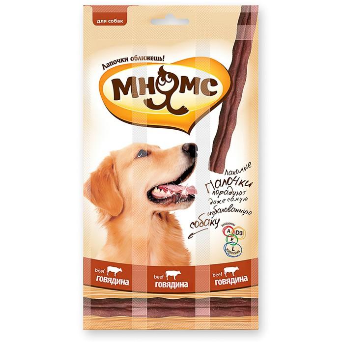 """Лакомые палочки """"Мнямс"""" для собак, с говядиной, 45 г"""